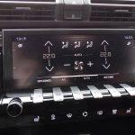 Prueba Peugeot 508 SW climatizador en la pantalla táctil