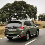 Prueba Forester Eco Hybrid dinámica trasera