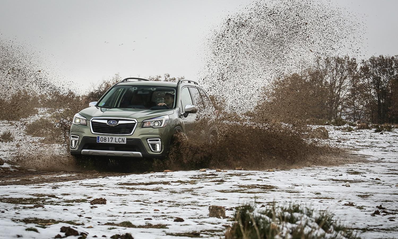 Prueba Subaru Forester Eco Hybrid nieve