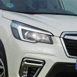 Prueba Subaru Forester Eco Hybrid detalle faro de LED