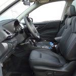 Plazas delanteras del Subaru Forester Ecp Hybrid