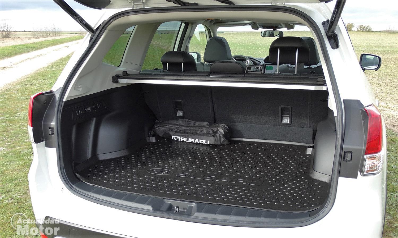 Maletero del Subaru Forester Eco Hybrid