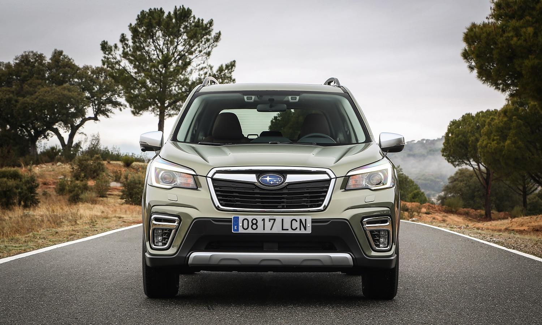 Prueba Subaru Forester Eco Hybrid frontal