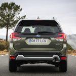 Prueba Subaru Forester Eco Hybrid trasera