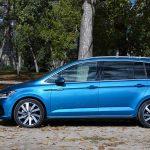 Prueba Volkswagen Touran lateral