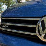 Volkswagen Touran detalle calandra delantera R-Line