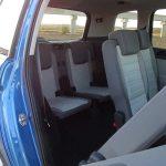 Acceso a la tercera fila de asientos del VW Touran