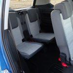 Tercera fila de asientos del Volkswagen Touran