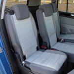 Volkswagen Touran segunda fila de asientos modulable