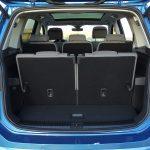 Maletero del Volkswagen Touran con siete asientos puestos