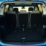 Maletero del Volkswagen Touran con cinco asientos