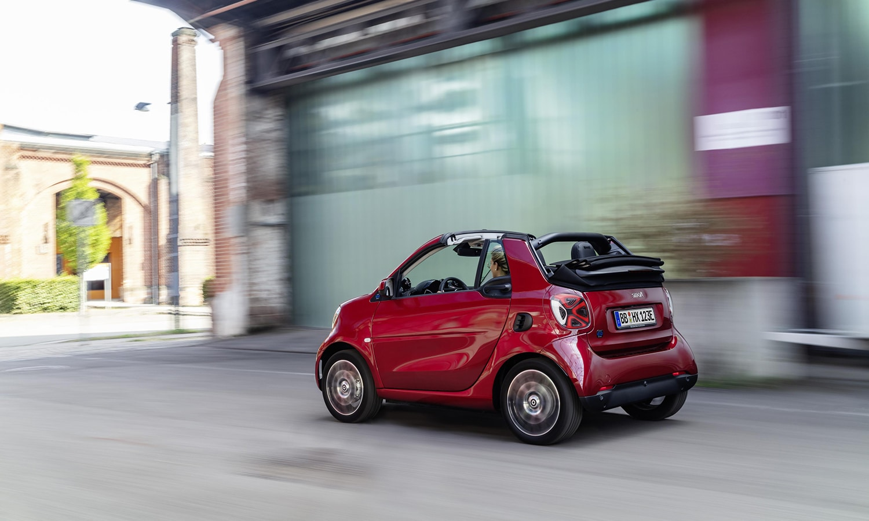 smart EQ fortwo cabrio dinámica
