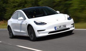 Actualización que mejora la aceleración del Tesla Model 3