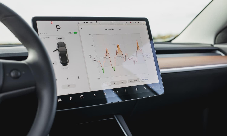 La actualización del Model 3 es vía satélite
