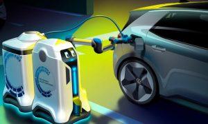 Robot autónomo para cargar vehículos eléctricos