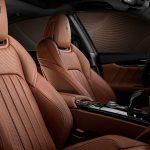 05 Maserati Quattroporte Royale - ZEGNA Pelletessuta interior