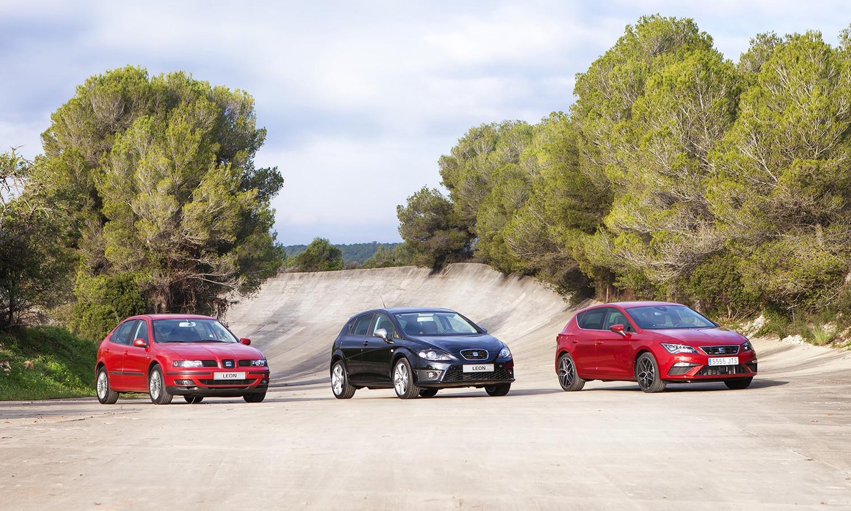 Las tres primeras generaciones del Seat León