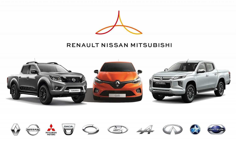 Alianza Renault-Nissan-Mitsubishi logo marcas