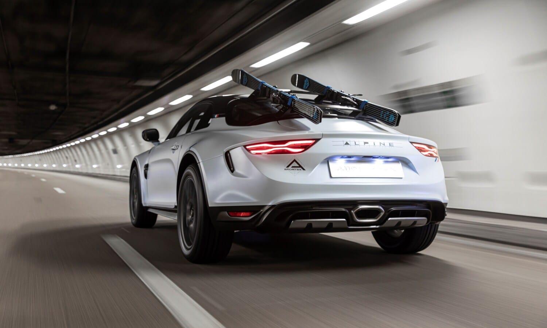 Alpine A110 SportsX Show car