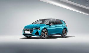 Audi e-Tron Hatchback front render