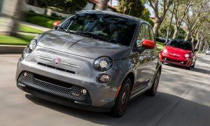 Fiat 500e USA front