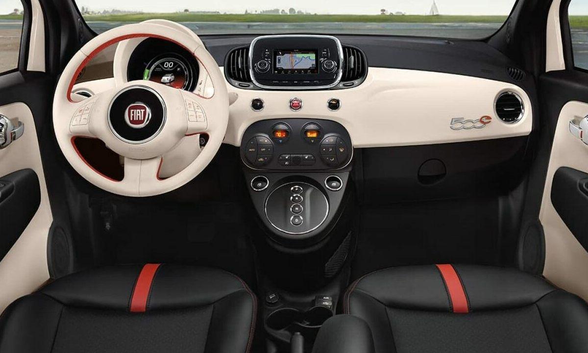 Fiat 500e USA inside