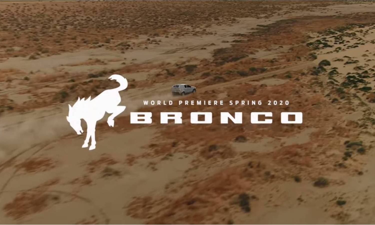 Ford Bronco world premiere