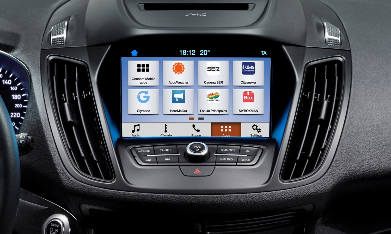 Ford Mondeo infotainment SYNC3