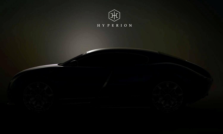 Hyperion Motors Hypercar teaser NYAS