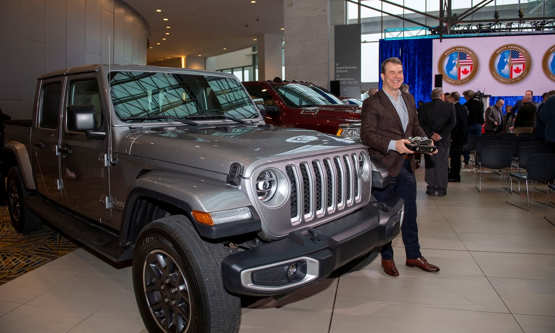 Jeep Gladiator NACTOY awards 2020