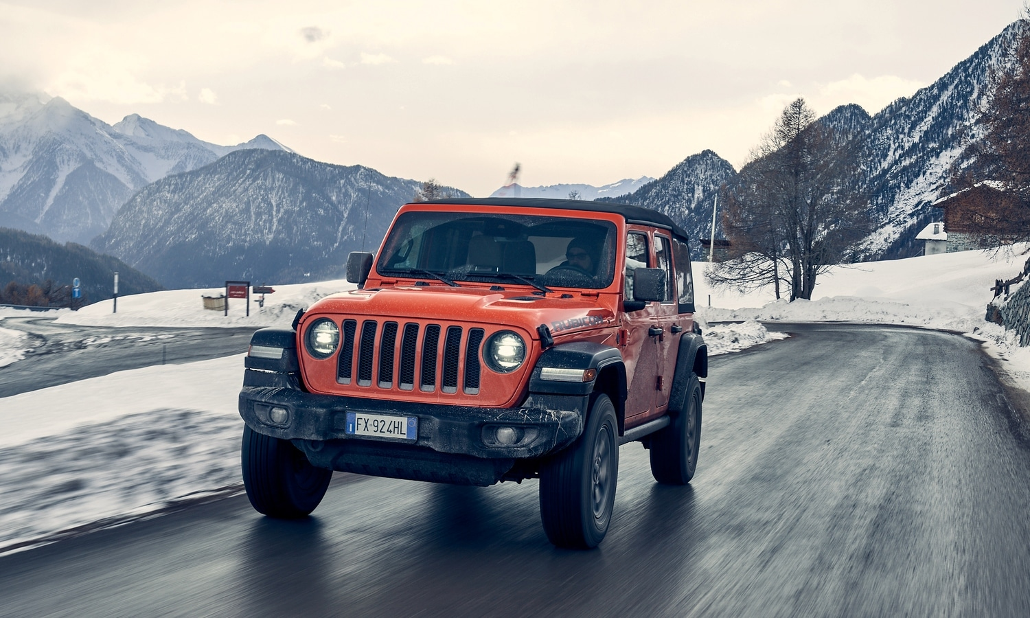 Jeep Wrangler Winter Experience