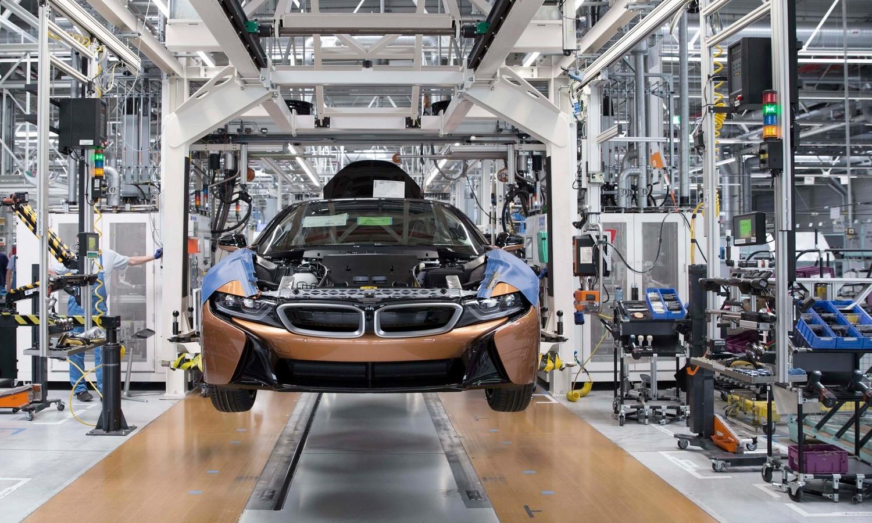 Production of BMW i8