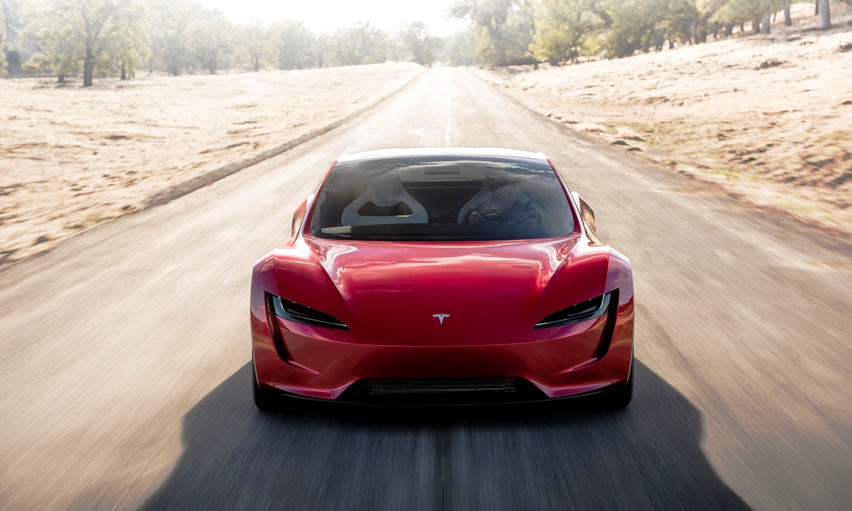 Tesla Roadster prototype front