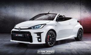 Toyota GR Yaris Cabrio by X-Tomi Design render