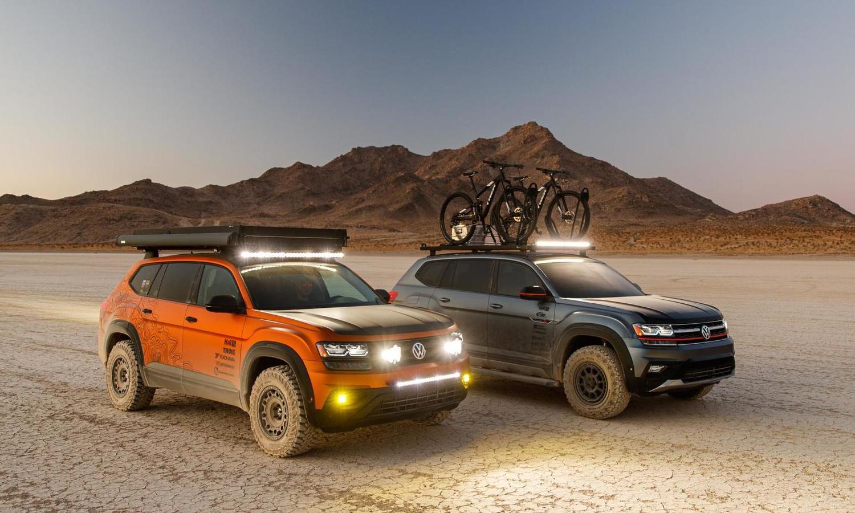 Volkswagen Atlas Adventure Concept - Volkswagen Atlas Basecamp Concept