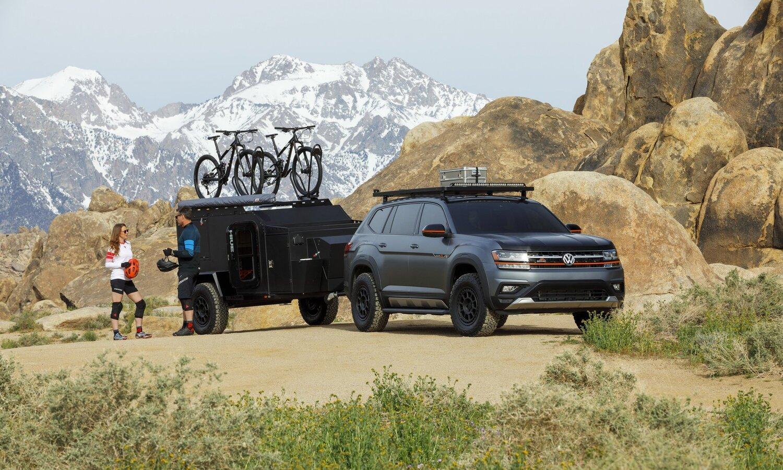 Volkswagen Atlas Basecamp Concept New York Auto Show 2019 0