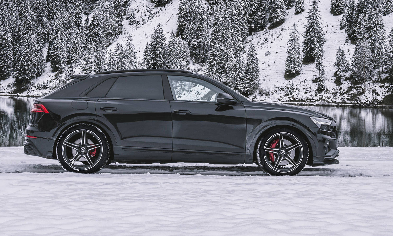 Audi SQ8 preparado por ABT vista lateral