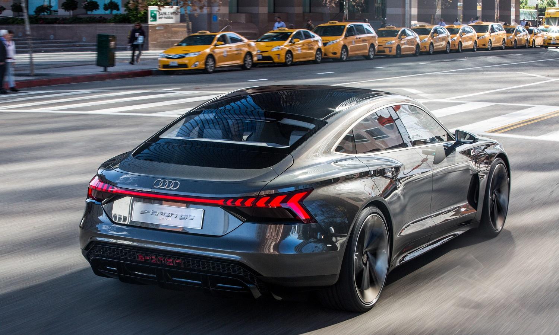 Trasera del Audi e-tron GT