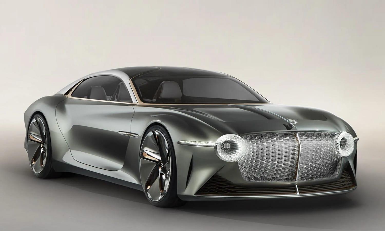 Concept de Bentley eléctrico con baterías en estado sólido