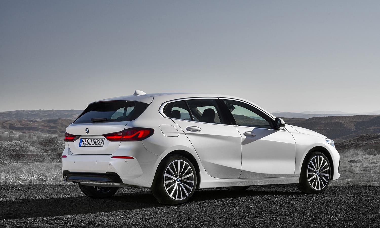 Lateral del BMW Serie 1