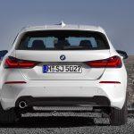 Parte trasera del BMW Serie 1