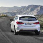 BMW Serie 1 dinámica trasera