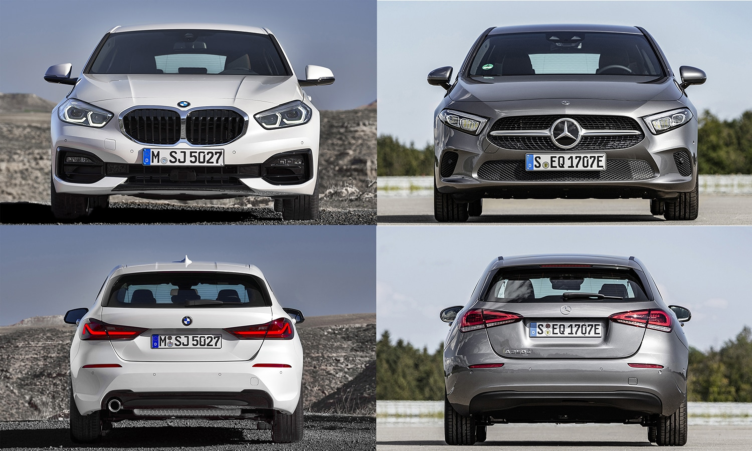 Comparativa BMW Serie 1 Vs Mercedes Clase A
