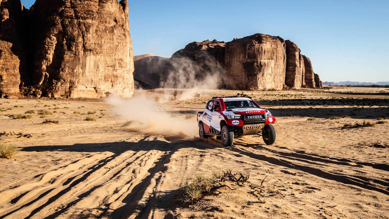 Fernando Alonso Dakar 2020 Toyota Hilux