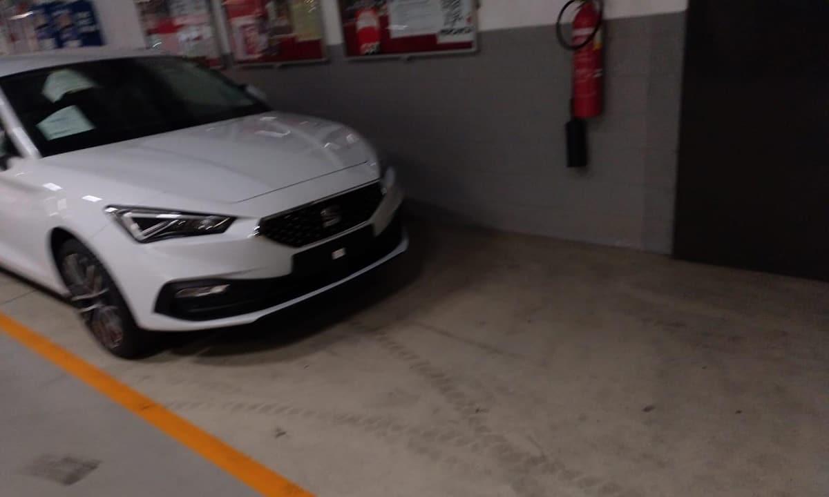 Seat León 2020 filtrado parte delantera