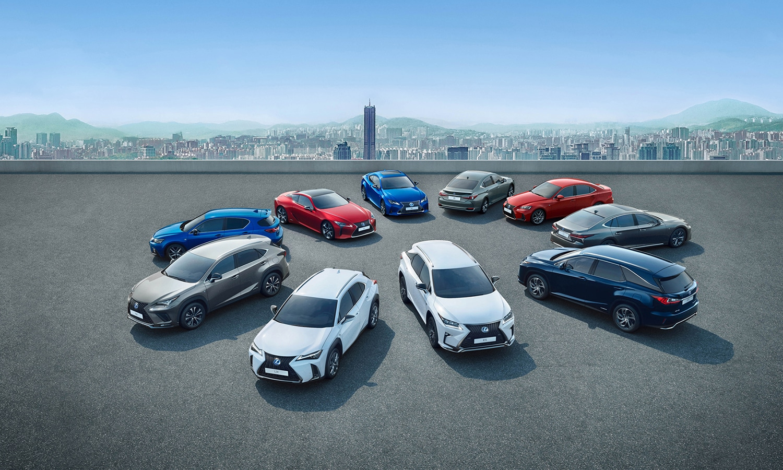 Gama Lexus 2020