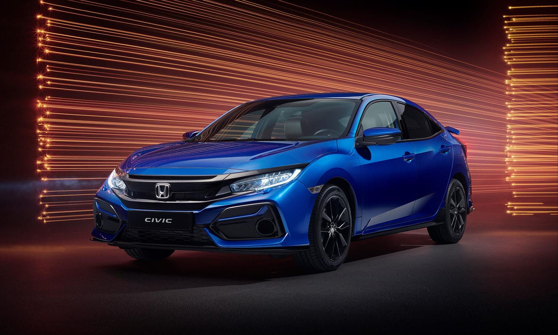 Honda Civic Sportline delantera