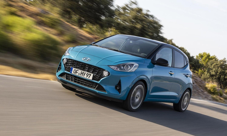 Hyundai i10 dinámica delantera