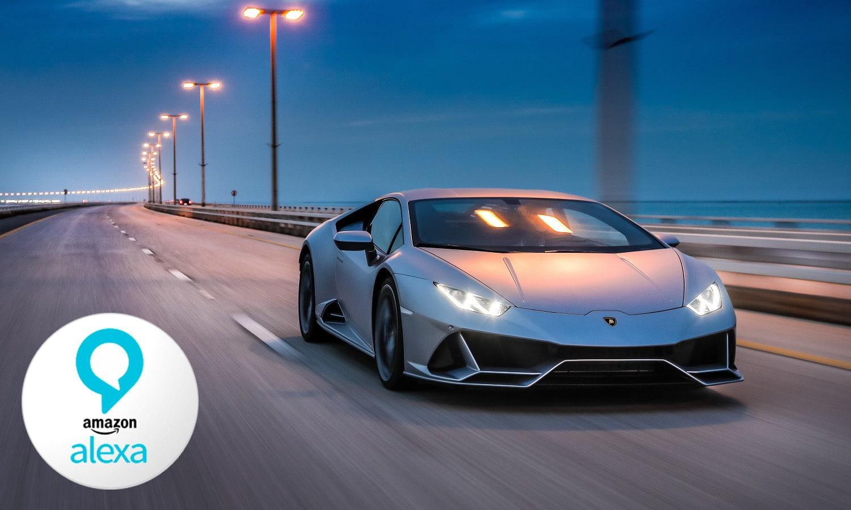 El Lamborghini Huracan Evo llevará Alexa integrada