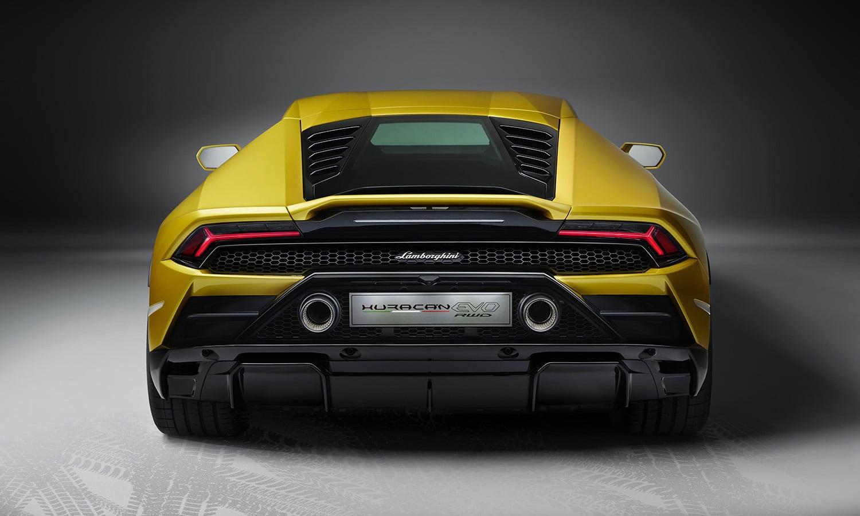 Lamborghini Huracán EVO RWD trasera